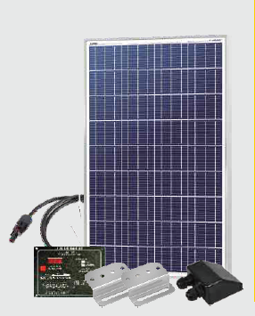 Sun Wanderer 100w RV Roof Top Starter Kit SLRV-100K